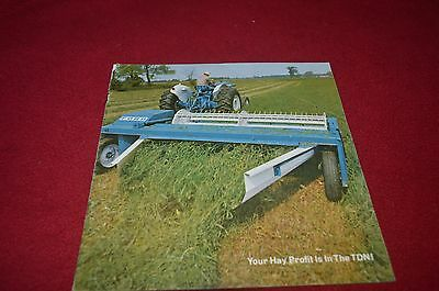 Ford Tractor Hay Equipment For 1968 Dealer's Brochure YABE9