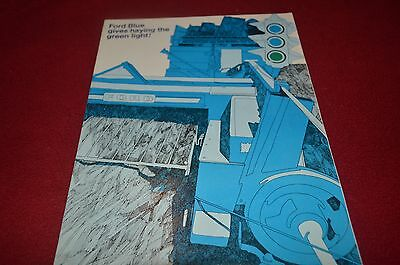 Ford Tractor Hay Equipment For 1969 Dealer's Brochure YABE9