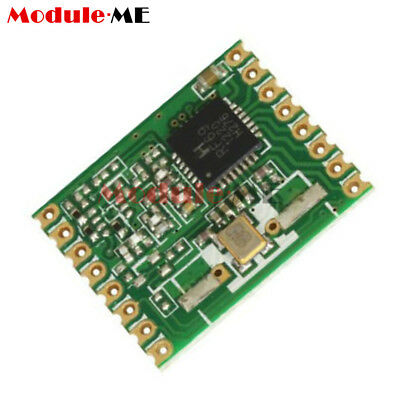 RFM69W 433Mhz +20dBm HopeRF Wireless Transceiver (RFM69W-433S2)FO Remote/Track M