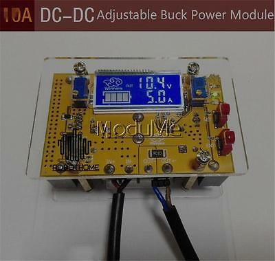 10A DC Adjustable CC CV Step-down Power Supply 12v 5v 24v LCD volt amp meter MO