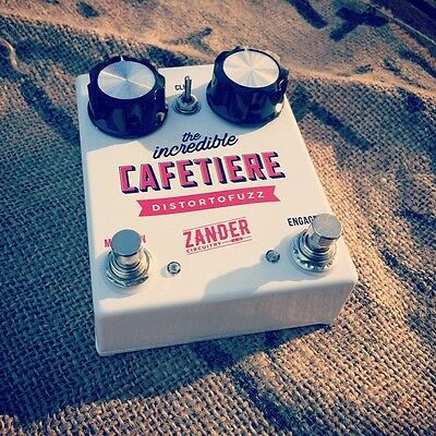 Zander Circuitry Cafetiere Fuzz Distortion Harmonic Percolator Guitar Pedal