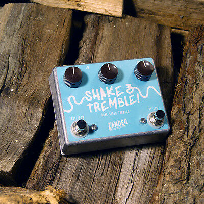 Zander Circuitry Shake & Tremble Tremolo Electric Guitar Effects Pedal Stomp Box