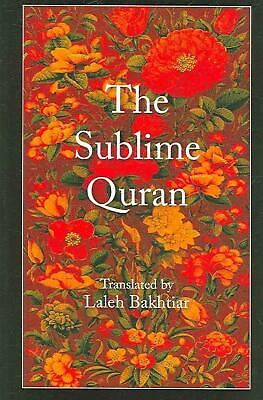 The Sublime Quran (English) Paperback Book Free Shipping!