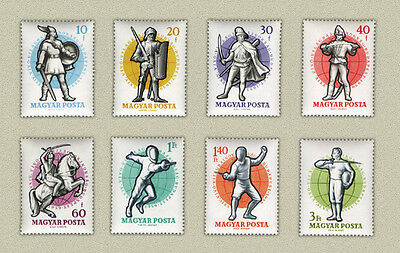 Hungary 1959. Fencing World Cup nice set MNH (**)