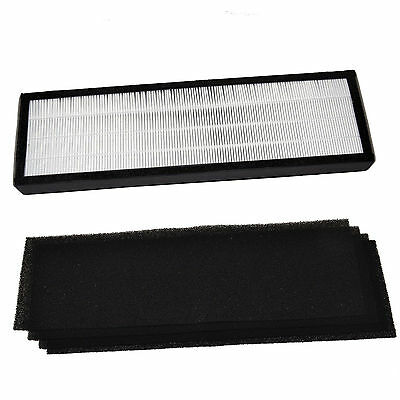 True HEPA Filter B + 4x Carbon Filters for GermGuardian AC4800 AC4825 AC4900CA