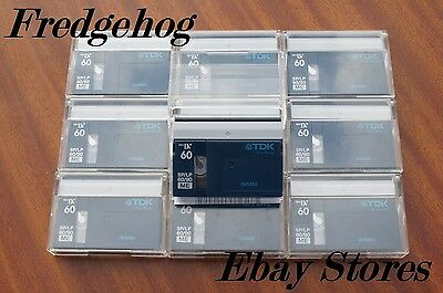 10 x SUPERB QUALITY TDK DVM-60 MINI DV DIGITAL VIDEO CAMCORDER TAPES/ CASSETTES