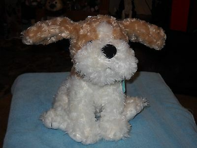 New Cuddle Barn Buttons The Dog    Talking Plush