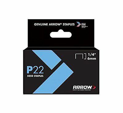 Arrow Staples Use With P-22 (Ace No. 91055) Stapler 1/4 In.