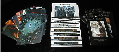 Game of Thrones Season 5 Deluxe Mini-Master Set w/ Binder & Mirror Reflections