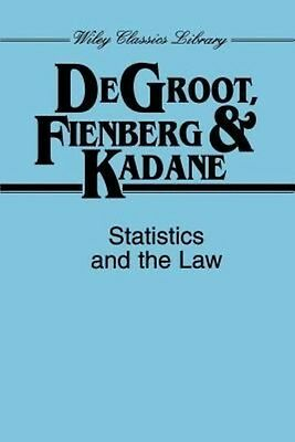 Statistics and the Law by Degroot Paperback Book (English)