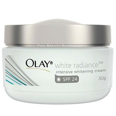Olay White Radiance Intensive Whitening Cream with Sunscreen SPF 24 50g