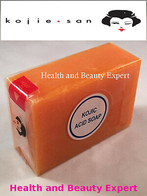 GENUINE KOJIE SAN Kojic Acid Soap Skin Whitening Lightening For Acne U.K. Stock