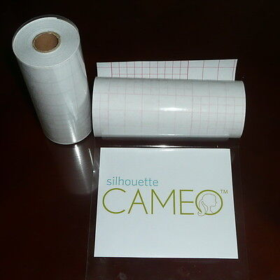 "12"" x 50 FT Roll Clear Application Transfer Tape Medium Tack for Craft Vinyl"
