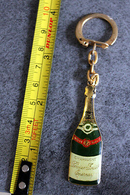 Vintage French Champagne Perrier Jouet Keyring