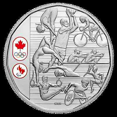 2016 Limited Edition Proof Silver Dollar Celebrating Canadian Athletes