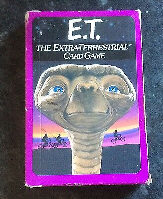 E.t. The Extra Terrestrial Card Game  Parker Bothers Unused Free Post