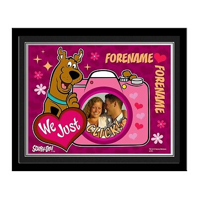 Personalised Scooby Doo We Just Click Photo Contemporary Frame