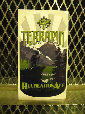TERRAPIN BEER Co BREWING Athens GA BREWERY ~ Recreational Ale ~ Beer Sticker