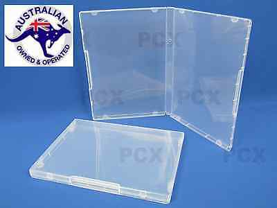 5 Super Clear Plastic DVD Stamp Storage Poly Cases