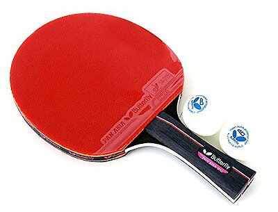 Butterfly Pan Asia S10 Shakehand Table Tennis Racket Ping Pong