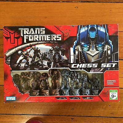 Transformers Chess Set - 2007 Hasbro - Complete