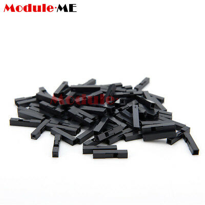 500PCS 1P Dupont Jumper Wire Cable Housing Female Pin Connector 2.54mm Pitch UK