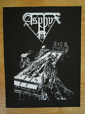 ASPHYX BACK PATCH printed NEW death metal