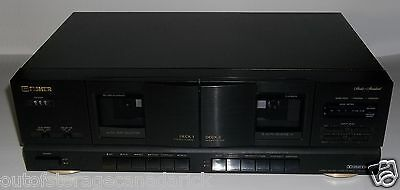 Fisher CR-W9325 Stereo Double Cassette Deck - Works Great