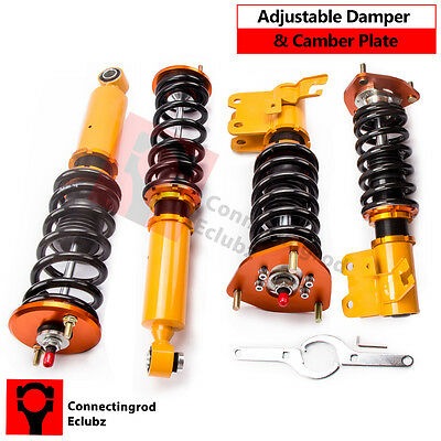 Adjustable Damper Coilovers Suspension for Nissan Silvia S13 180SX 200SX CA18DET