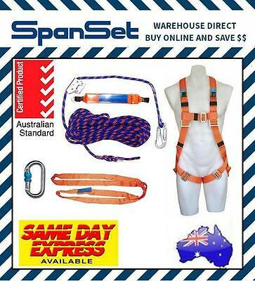 Spanset 15m Height Safety Roofers Harness Kit, Tradesman Roofing Spanset