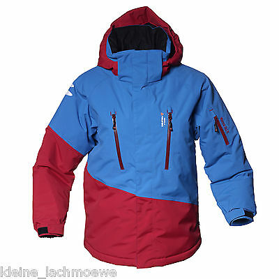 Isbjörn of Sweden Back Flip Ski Jacket Winterjacke Skijacke happy red/blue