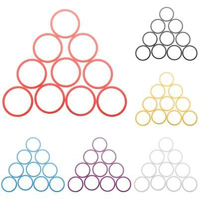 """Set of 10 Alloy Washers Headset Spacer 1-1/8"""" Road Bike MTB Bicycle Cycling Stem"""