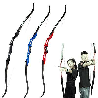 24-30lbs Archery Takedown Recurve Bow Right Hand Target Hunting Practice Bow