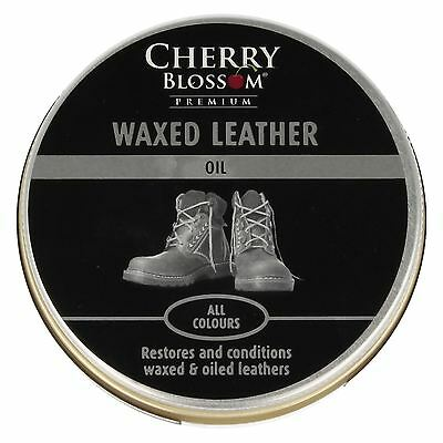 Cherry Blossom 'Waxed Leather Oil'