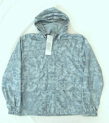 New Levis Engineered Wind Breaker Hooded Jacket Size Small