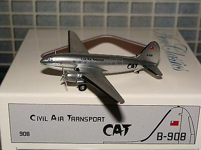 Aeroclassics Civil Air Transport CAT C-46 B-908 1/400 **Free S&H** 1116