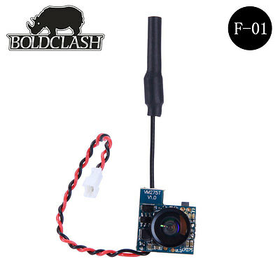 Boldclash Micro FPV fotocamera AIO & 5,8GHz 48CH AV TX Combo-Tiny Whoop