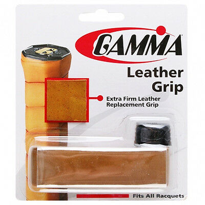 Gamma Leather Replacement Grip - Tan - Free P&P