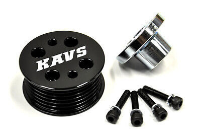 Mazda MX5 MX-5 Supercharger Pulley 15% 55.5mm KAVS Eaton M45