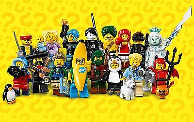 LEGO SERIES 16 MINIFIGURES - Complete Set of 16 characters New