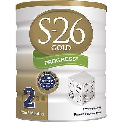 S26 Gold Progress 900g x 6 tins *BEST PRICE IN AUSTRALIA*