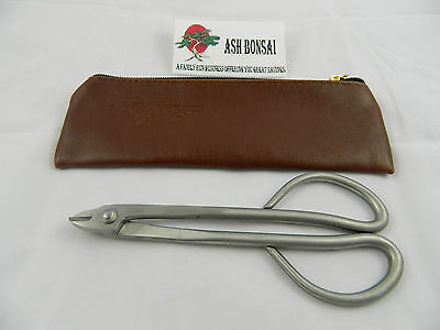 New Ryuga Stainless Wire Scissors / Cutters 160mm Bonsai Quality Tools Zip Case