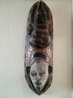 Tribal mask from Papua New Guinea