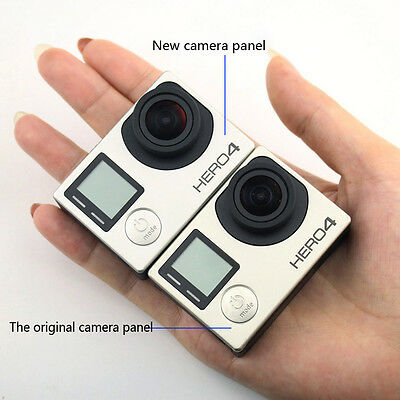 Faceplate Repair Parts Replacement Front Cover Frame for GoPro Hero 4 Camera TMP
