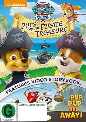 Paw Patrol: Pups And The Pirate Treasure - DVD Region 4 Free Shipping!
