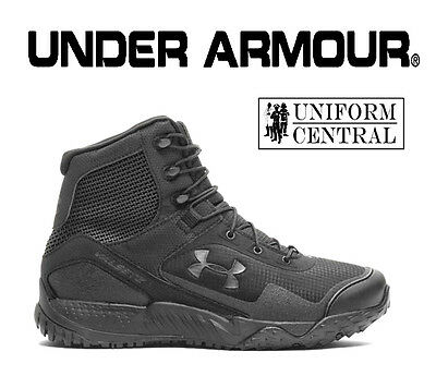 Under Armour UA Men's Black VALSETZ RTS Tactical Boots - ALL SIZES  1250234