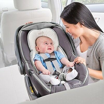Infant Snuzzler Infant Support For Car Seats And Strollers Ivory FREE SHIPPING