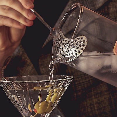 Endurance Vintage Cocktail Strainer Spoon - Cocktail Mixing Bar Spoon