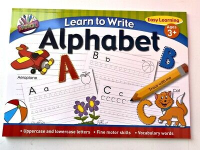 Alphabet & Numbers Cards in tin play & learn FUN Toy nursery kids children