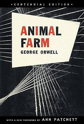 Animal Farm: A Fairy Story by George Orwell (English) Paperback Book Free Shippi